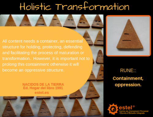 We share the rune for November: Containment – Oppression