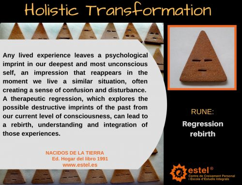 We invite you to reflect on the January rune: Regression – rebirth